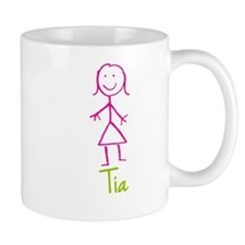 Tia-cute-stick-girl.png Small Mugs