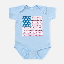 EMS flag Infant Bodysuit