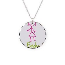 Ericka-cute-stick-girl.png Necklace