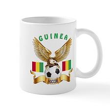 Guinea Football Design Mug