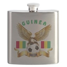 Guinea Football Design Flask