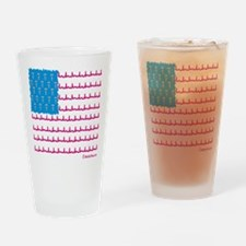 Medical flag Drinking Glass