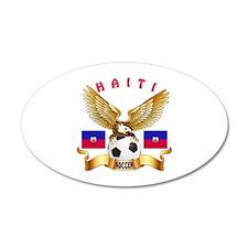 Haiti Football Design Wall Decal