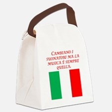 Italian Proverb Same Song Canvas Lunch Bag