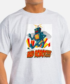 Bad Robot @ eShirtLabs.Com Ash Grey T-Shirt