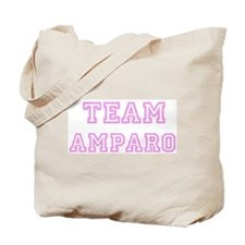 Pink team Amparo Tote Bag