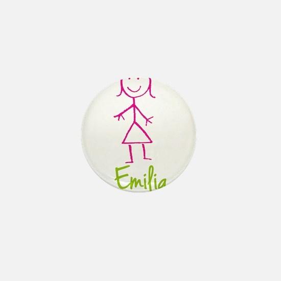 Emilia-cute-stick-girl.png Mini Button