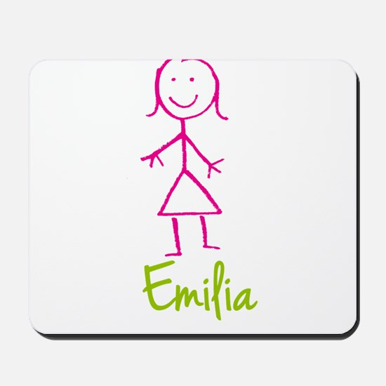 Emilia-cute-stick-girl.png Mousepad