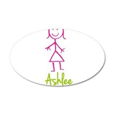 Ashlee-cute-stick-girl.png Wall Decal