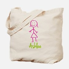 Ashlee-cute-stick-girl.png Tote Bag