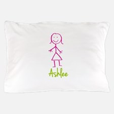 Ashlee-cute-stick-girl.png Pillow Case