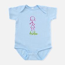 Ashlee-cute-stick-girl.png Infant Bodysuit