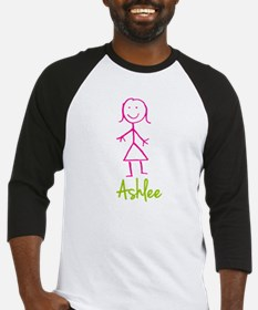 Ashlee-cute-stick-girl.png Baseball Jersey