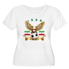 Iran Football Design T-Shirt