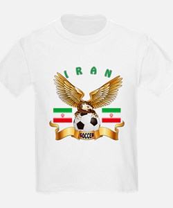 Iran Football Design T-Shirt