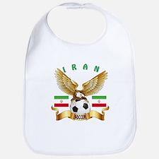 Iran Football Design Bib