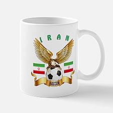 Iran Football Design Mug