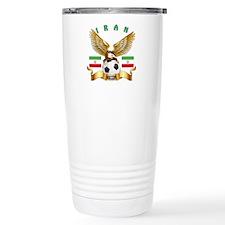Iran Football Design Travel Coffee Mug