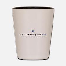 Kris Relationship Shot Glass