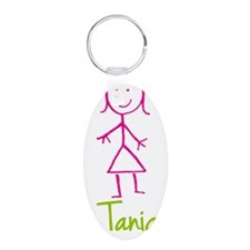 Tania-cute-stick-girl.png Keychains