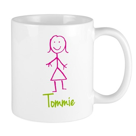 Tommie-cute-stick-girl.png Mug