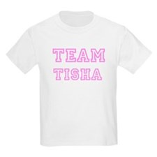 Pink team Tisha Kids T-Shirt