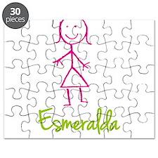 Esmeralda-cute-stick-girl.png Puzzle