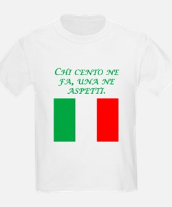 Italian Proverb What Goes Around T-Shirt