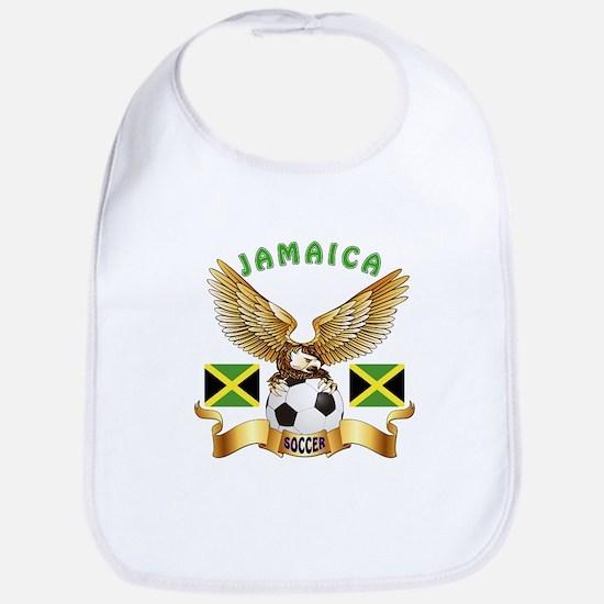 Jamaica Football Design Bib