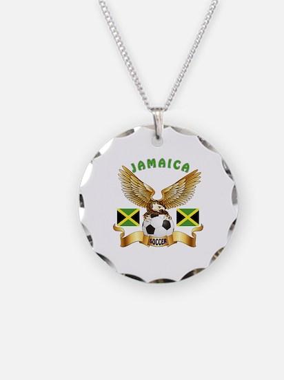 Jamaica Football Design Necklace