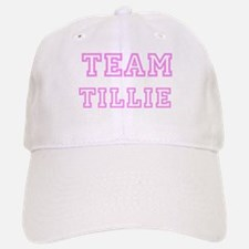 Pink team Tillie Baseball Baseball Cap