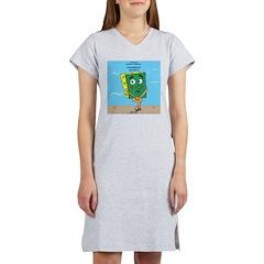 Scrungepad Nopants Women's Nightshirt