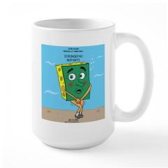 Scrungepad Nopants Large Mug
