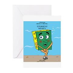 Scrungepad Nopants Greeting Cards (Pk of 10)