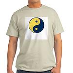 Blue and Gold Ash Grey T-Shirt