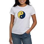 Blue and Gold Women's T-Shirt