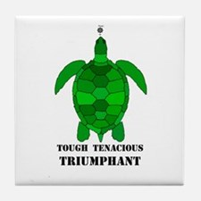 Green Turtle-Tough-Tenacious-Triumphant Tile Coast