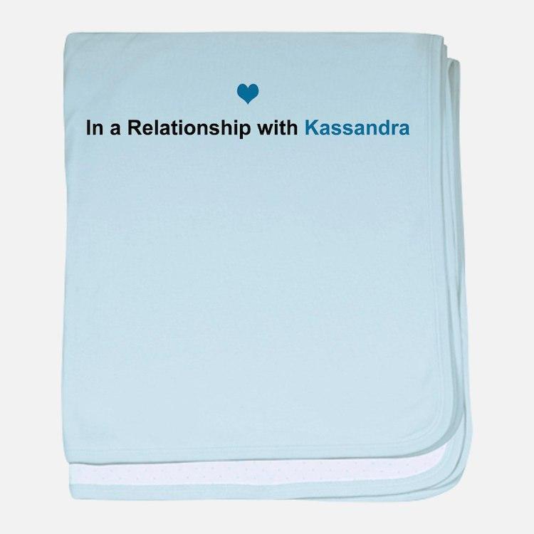 Kassandra Relationship baby blanket