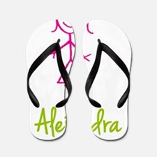 Alejandra-cute-stick-girl.png Flip Flops