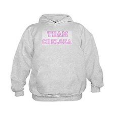 Pink team Chelsea Hoodie