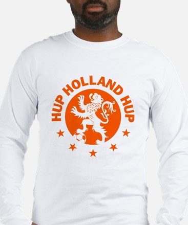 Hup Holland Hup Orange Dutch F Long Sleeve T-Shirt