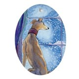 Greyhound dog Ornaments