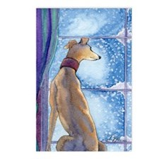 Cute Whippet Postcards (Package of 8)