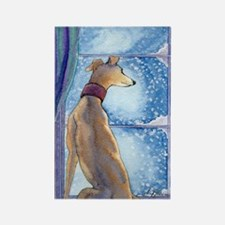 Unique Greyhound Rectangle Magnet (10 pack)