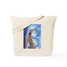 Cute Greyhound christmas Tote Bag
