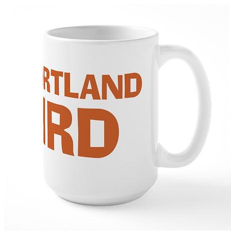 Keep Portland Weird - Orange Large Mug