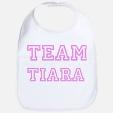 Pink team Tiara Bib