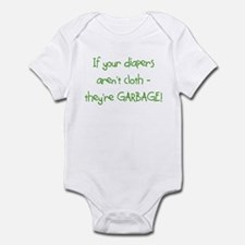 If your diapers aren't cloth. Infant Bodysuit