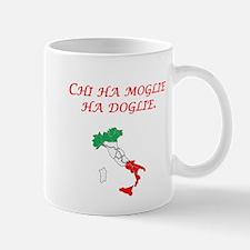 Italian Proverb Wife Mug