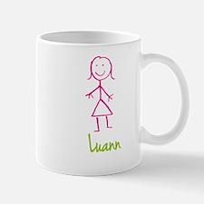 Luann-cute-stick-girl.png Mug